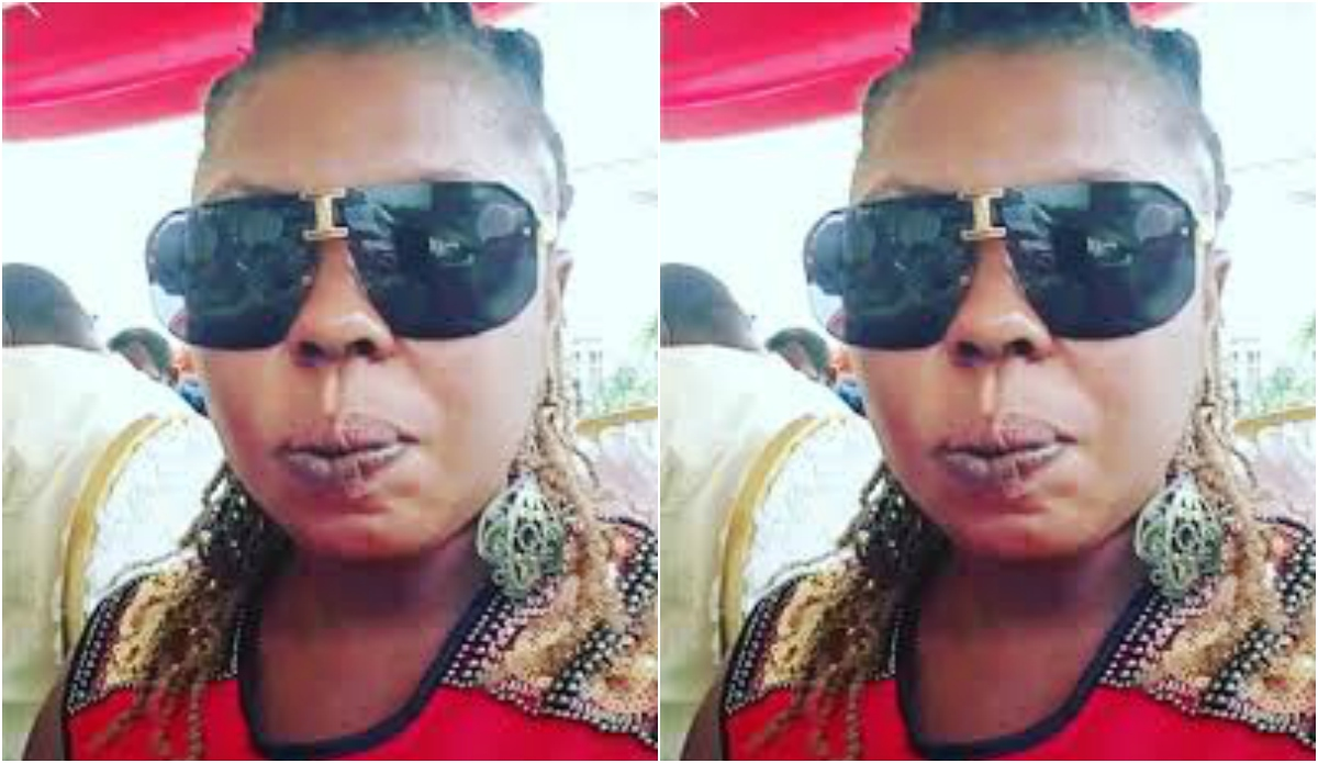 PHOTO: Picture of Afia Schwarzenegger Without Makeup Looking Like A Zombie  Hits The Internet