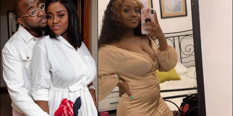 Photos: Davido's Fiancee, Chioma, Shows Off Her Post Baby Body