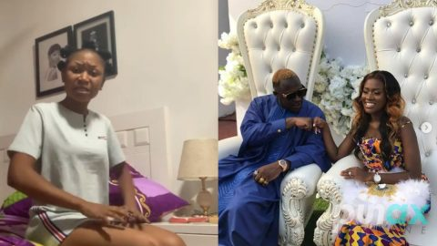 Video: Akuapem Poloo drops serious bombshell about Fella Makafui and Medikal's wedding that has got her fans worried