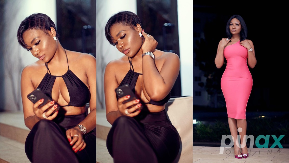 Sandra Ankobiah Flaunts Her Firm Cle@v@ge In 4 Saucy Photos ...