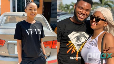 Regina Daniels reacts after her ex – Boyfriend Somadina hints on marrying Ghanaian beautiful Actress Akuapem Poloo