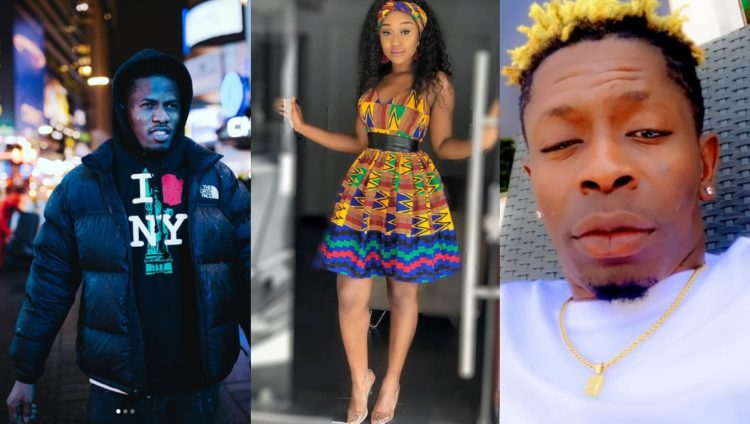 "Efia Odo replies Shatta Wale after he reacted to the Fake ""chopping "" video of Kwesi Arthur and Her"