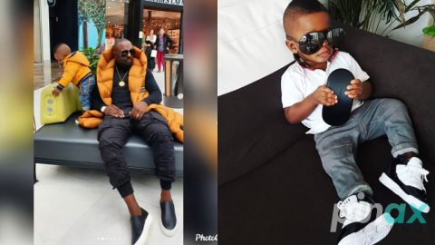 Nollywood Actor, Jim Iyke reveals interesting Facts about his Son which we never Knew