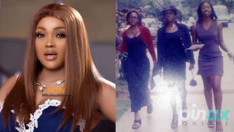 Photo: Nigerian celebrities react after Mercy Aigbe posted a 1999 Photo of herself