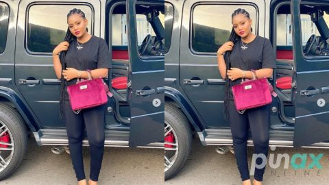 Checkout Photos of the beautiful lady Regina Daniels pushed into a pool during an Argument
