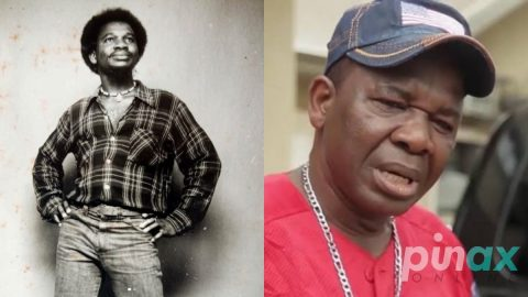 Photos: Nigerians react after Chiwetalu Agu shared a throwback Photo of himself during his slaying days