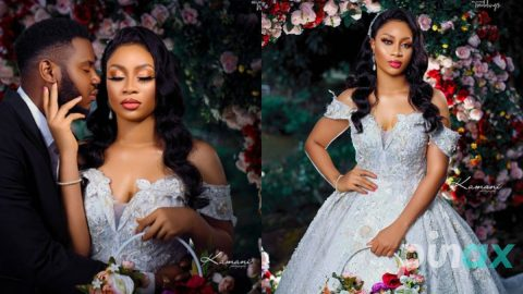 Regina Daniels ex Somadina dumps Akaupem Poloo as beautiful Photos of his wedding with another lady surfaces online