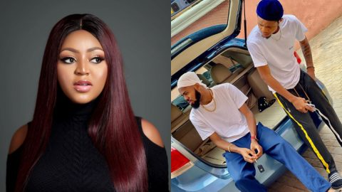 Regina Daniels Brother savagely replied a Fan who asked this about his sister