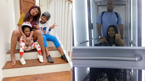 Nollywood Actress Mary Njoku's husband, Jason Njoku shocking reveals how his wife was bed ridden and in wheelchair for months