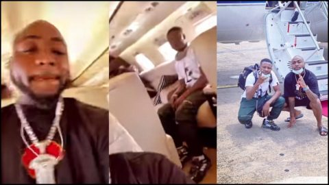 Video: Davido Finally Flies His Entire Crew To Ghana After Revealing He Misses The Country