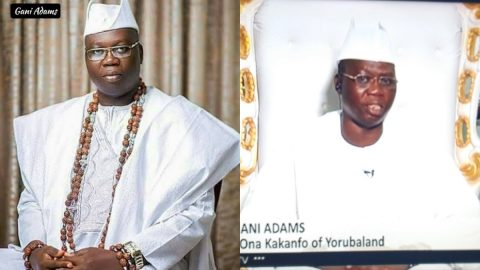 Politicians Gave The Urchins Money To Burn The Police Station! Aare Ona Kankanfo of Yorubaland Breathes Fire- See Video.