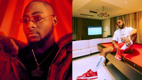 Davido Finally Signs First Female Artiste To His Record Label- Checkout who it is(Photos)