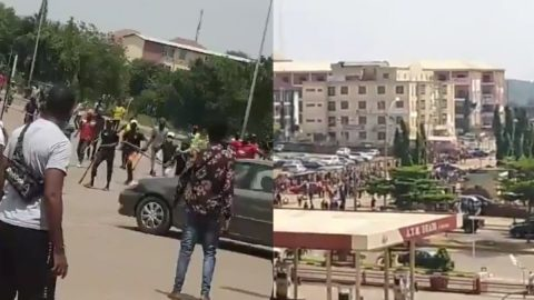 Conflict Erupts After Cultists Allegedly Kill Businessman, Loot Phone Store in Abuja-See Video.