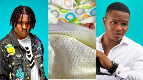 Comedian Oluwadolarz Welcomes First Child, Says Baby is The Reason For Protesting- See Photo.