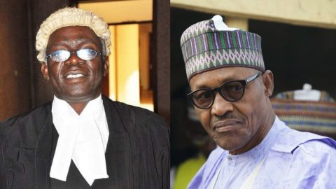 Buhari Will Be Embarrassed At The End of Legal Inquiry Into The Military Invasion of The Lekki Toll Gate- Lawyer Femi Falana.