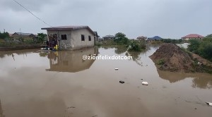 PHOTOS: Saturday's Heavy Rains Washed Away Cars And Houses In Kasoa 51