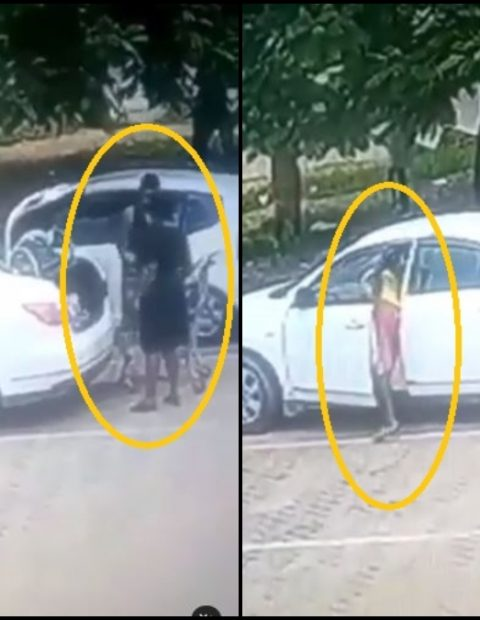 Video Of A Young Boy Robbing A Woman Whilst She Offloads Her Goods Into Her Car Breaks The Internet