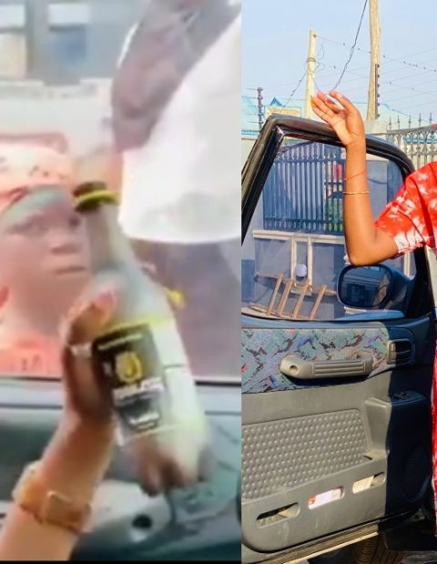 Socialite Dragged For Teasing Child Beggar Hours After She Shared Her Grass To Grace Story- See Video.
