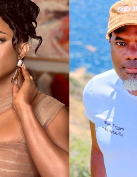 """""""Stay Out of Women's Business!"""" Toke Makinwa Blasts Reno Omokri For Shaming 'Bleached Divorcee Slay Queens'."""