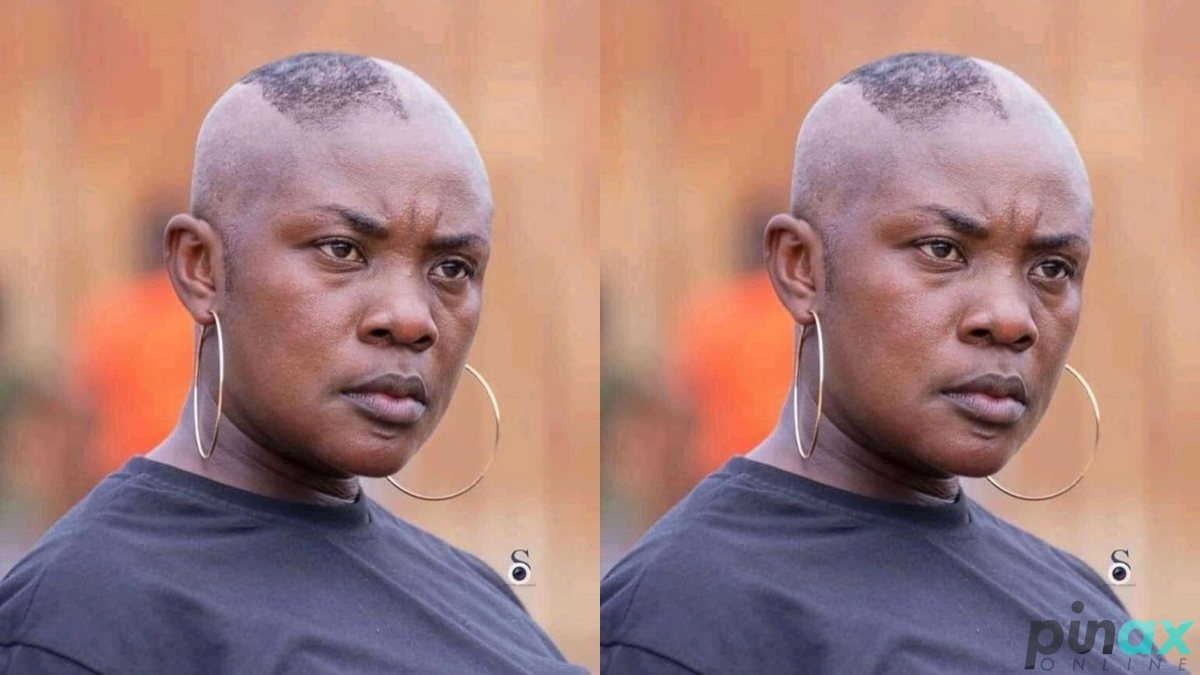 Ghanaians React As Actress Emelia Brobbey Goes Completely Bald In New Photos