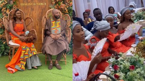 YFM's Erskine Whyte Ties The Knot In Colourful Traditional Marriage With Girlfriend