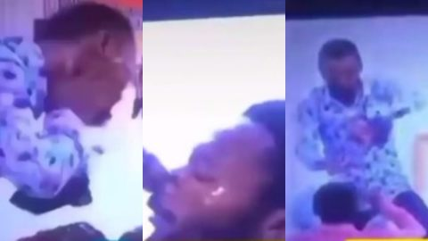 Ghanaians Fire Rev. Obofour For Washing His Face And Nostrils On Member's Face