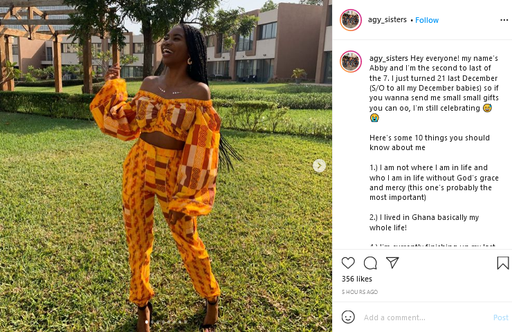 21 years old Daughter of Kennedy Agyapong takes social media by storm with 10 facts about herself. 3
