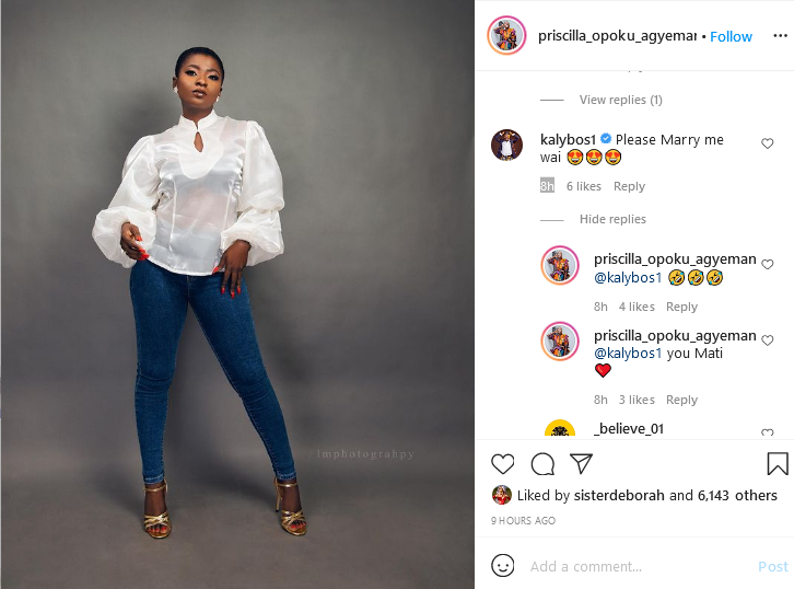 Ahoufe Patri agrees to marry Kalybos after years of rejecting him. (screenshot) 2