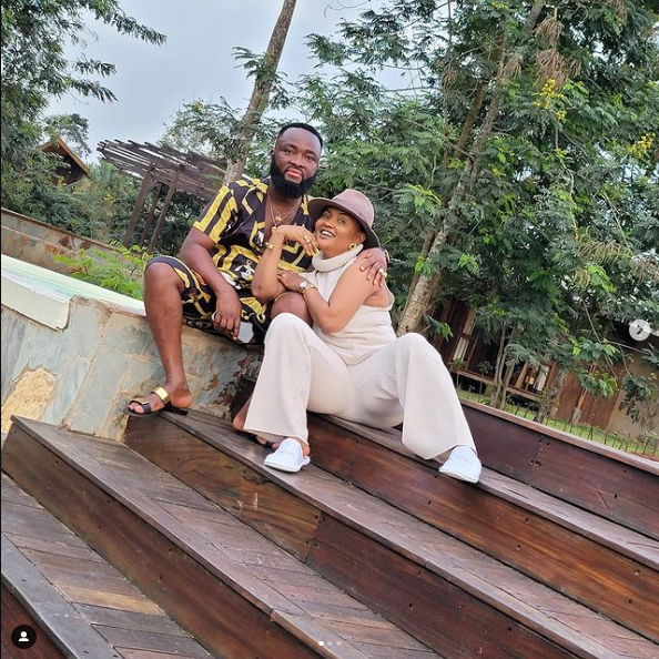 Nana Ama Mcbrown and her husband goes for a 'Baecation' to enjoy themselves this easter. (photos) 2