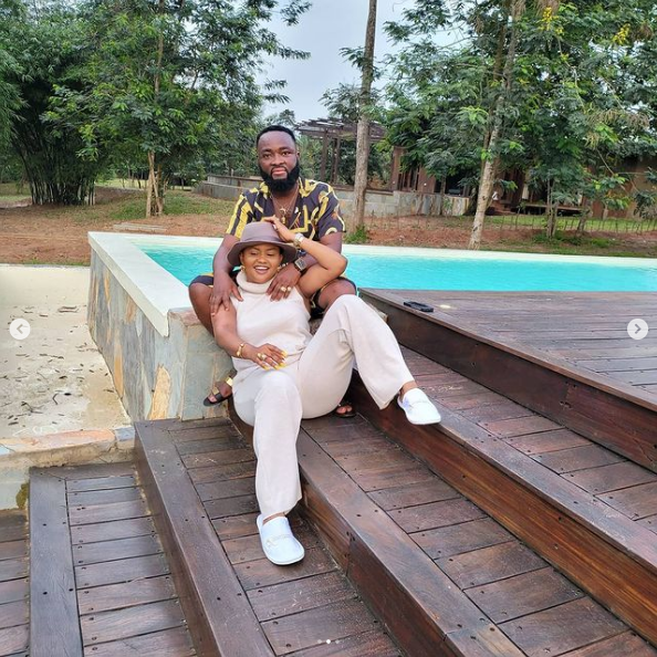 Nana Ama Mcbrown and her husband goes for a 'Baecation' to enjoy themselves this easter. (photos) 3