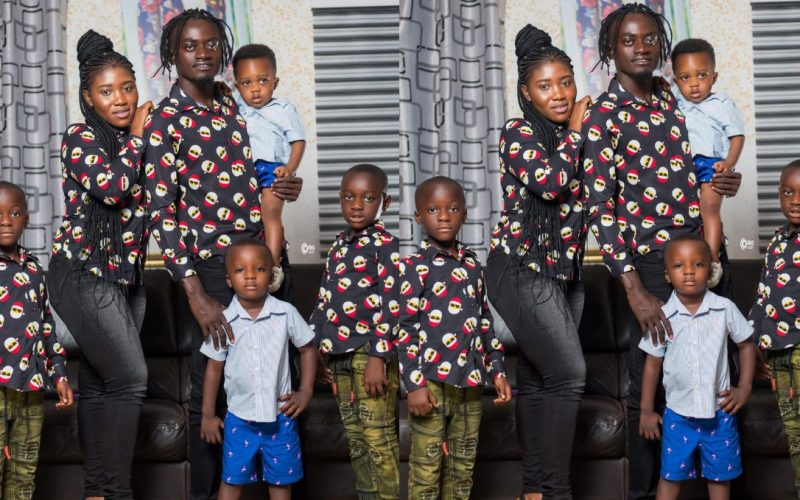 Lil Win Shows Off His New Wife For The First Time As She Celebrates Her On Mother's Day