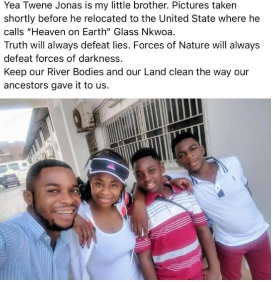 Elder Sister Of Twene Jonas Reacts To Viral Family Photo After Her Brother Was Allegedly Cursed By Bechem Traditional Council