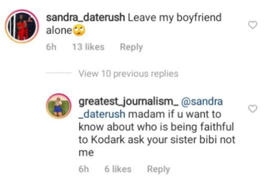 Sandra Of Date Rush Issues Serious Warning To Bella To Stay Far Away From Bebelino After Catching Them Together